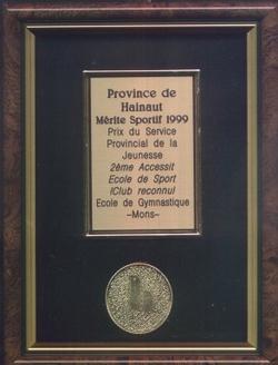 Mérite Sportif 1999