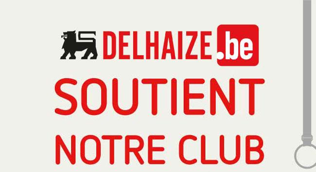 Delhaize soutient notre club